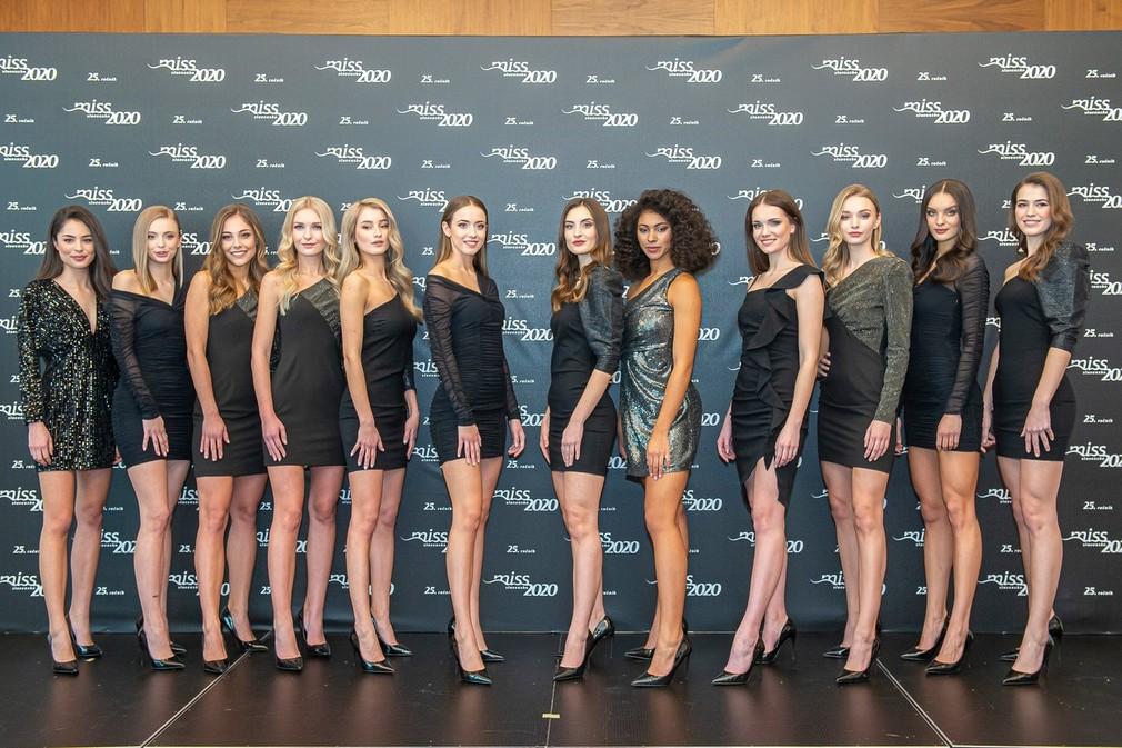 Finalistky Miss Slovensko 2020