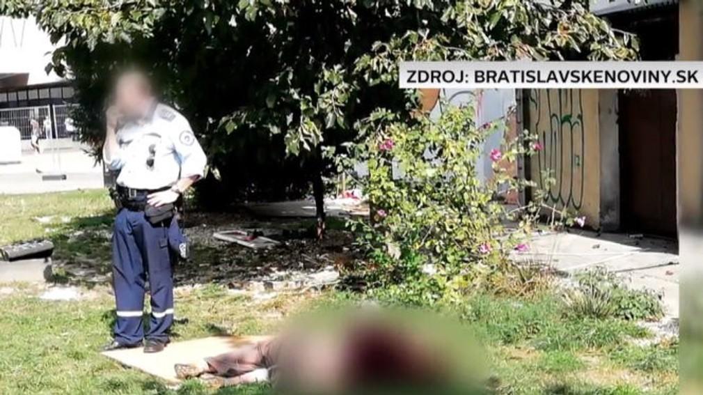 mestskí policajt rieši sexuálny akt na námestí