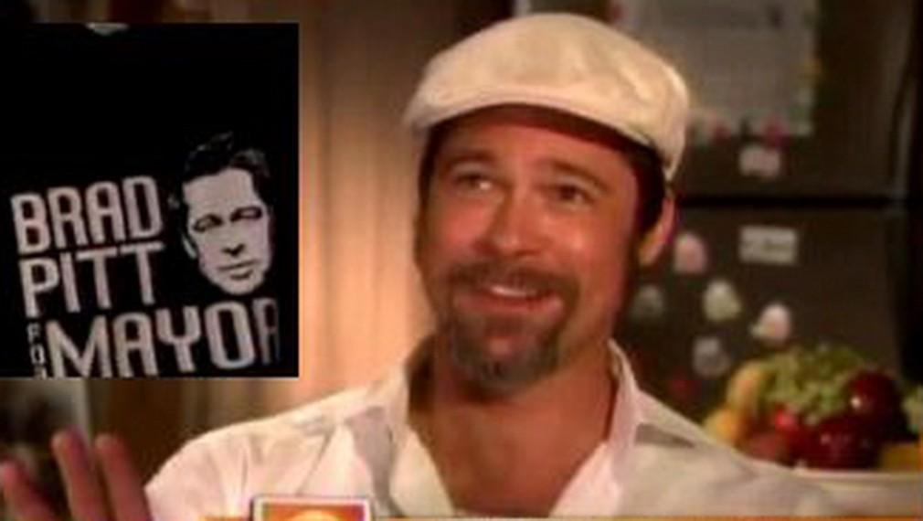 Brad Pitt, tričko, starosta
