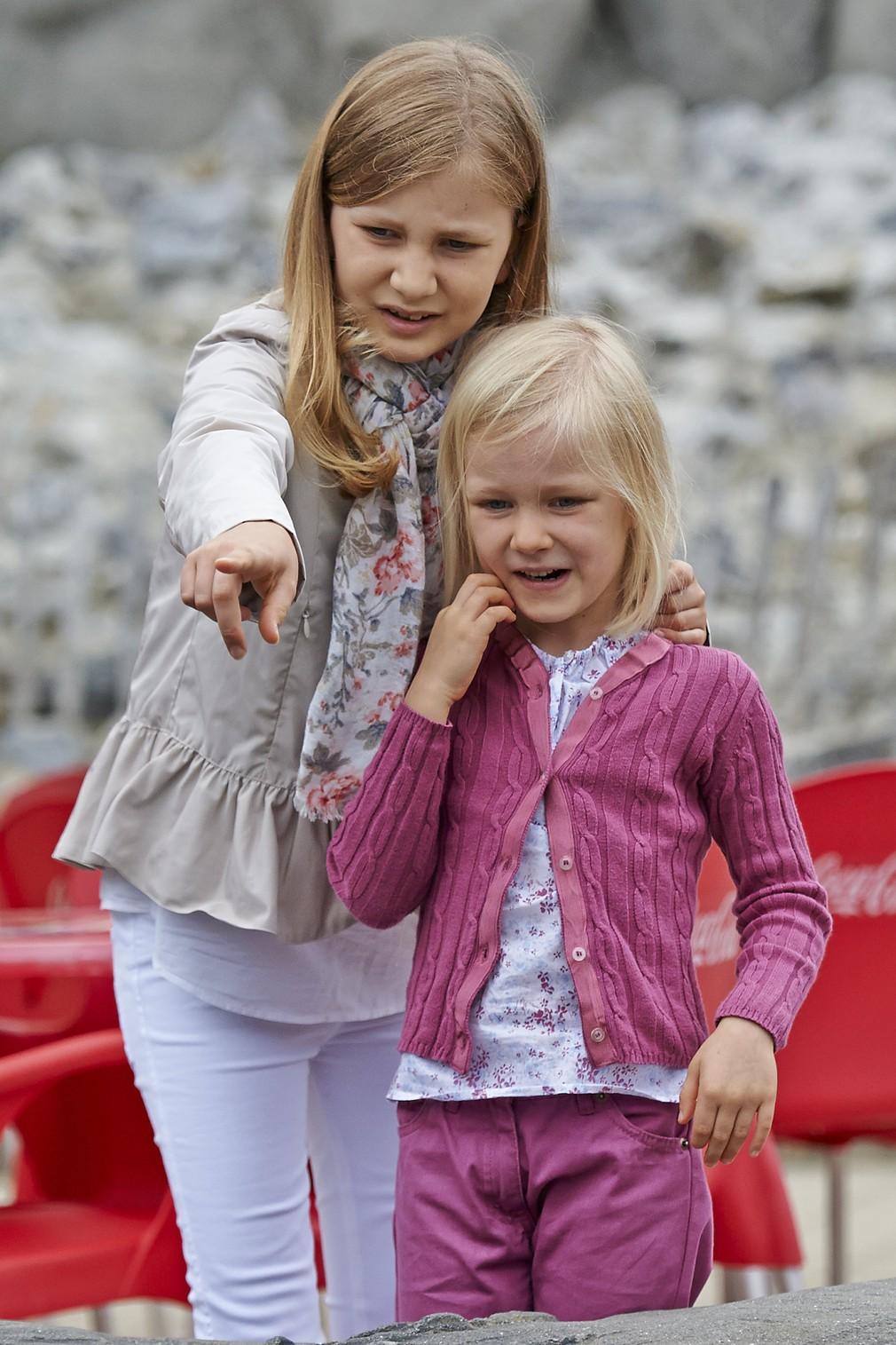 Princezná Elisabeth so sestrou