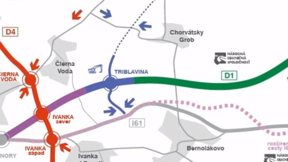 Vodiči sa sťažujú na diaľničný úsek pri Triblavine. Dopravnými obmedzeniami sa riadia zbytočne