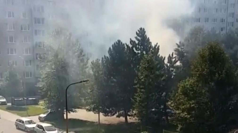 Hasiči bojovali s požiarom stromov pri ihrisku. Podpálil ich pritom iba 8-ročný chlapec