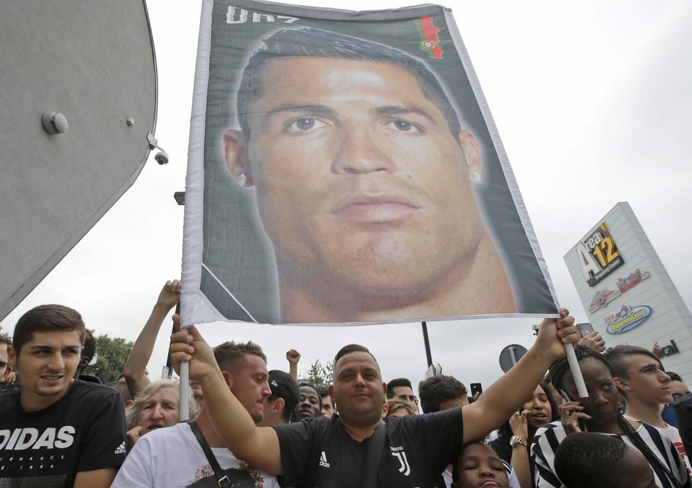 Portugalský futbalista Christiano Ronaldo