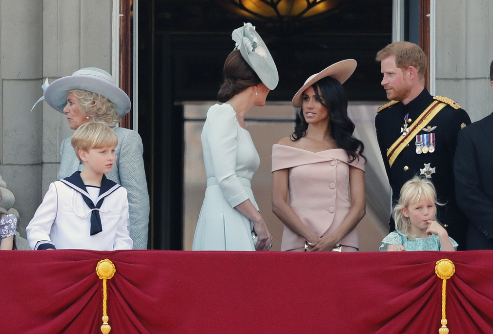 Kate, Meghan a Harry