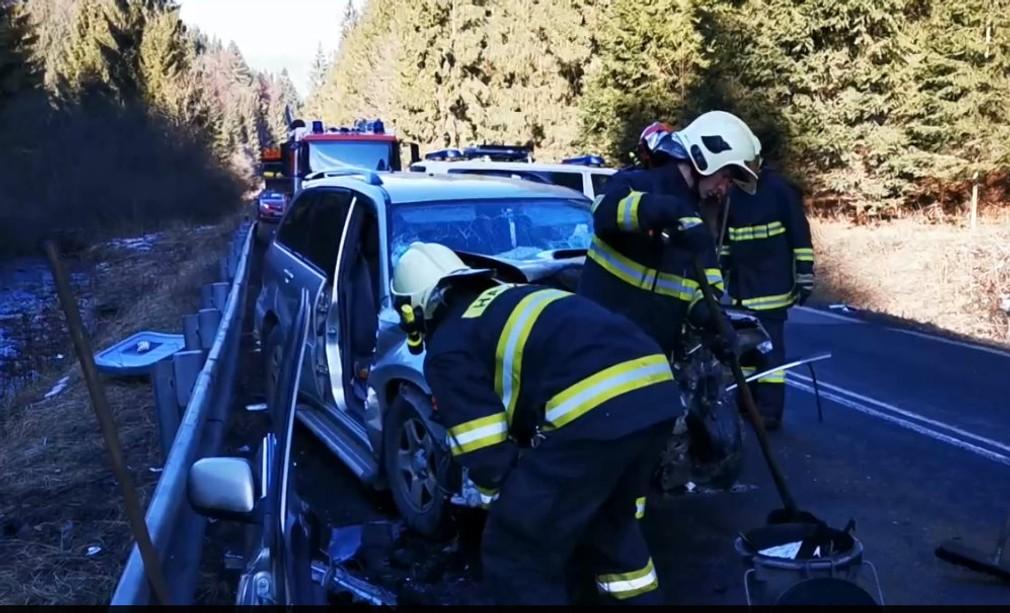 Dopravná nehoda na Liptove