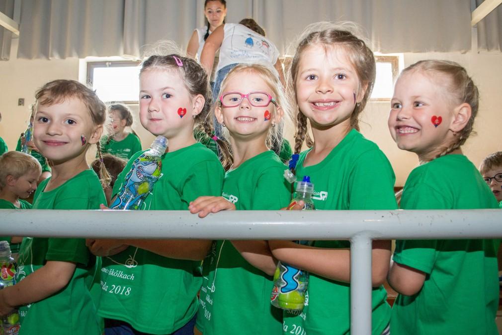 Detská olympiáda v hale Elán 1
