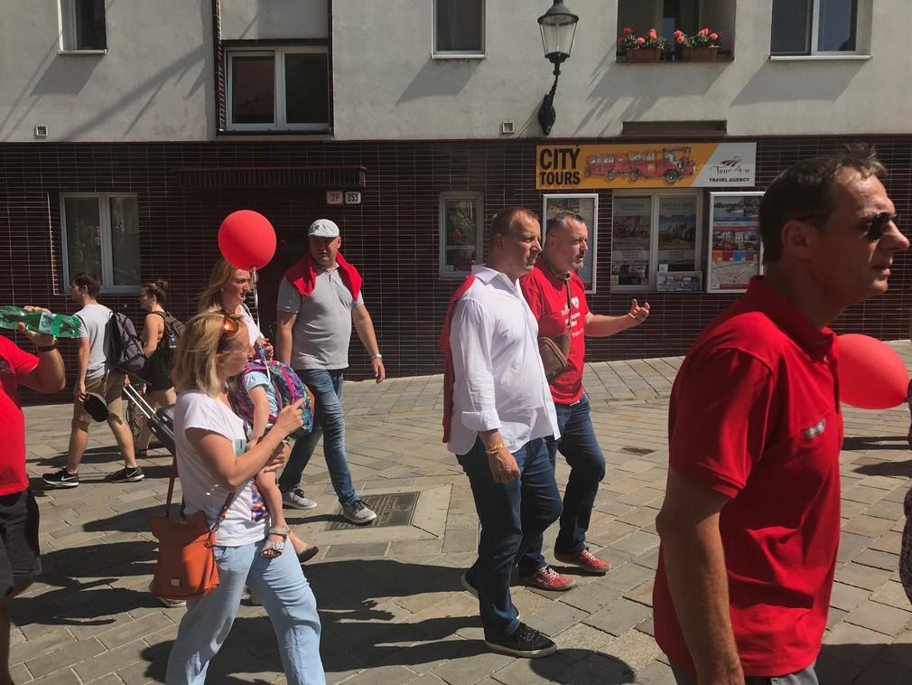 Pochod Hrdí na rodinu, Boris Kollár