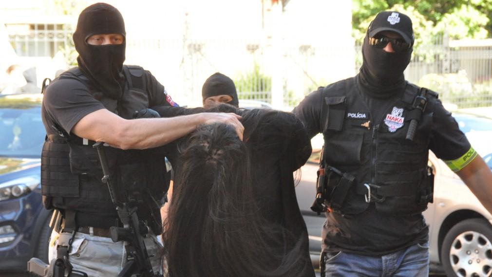 Alena Zs. - predvádzanie na Špecializovaný súd v Banskej Bystrici, obvinená v prípade vraždy Jána Kuciaka