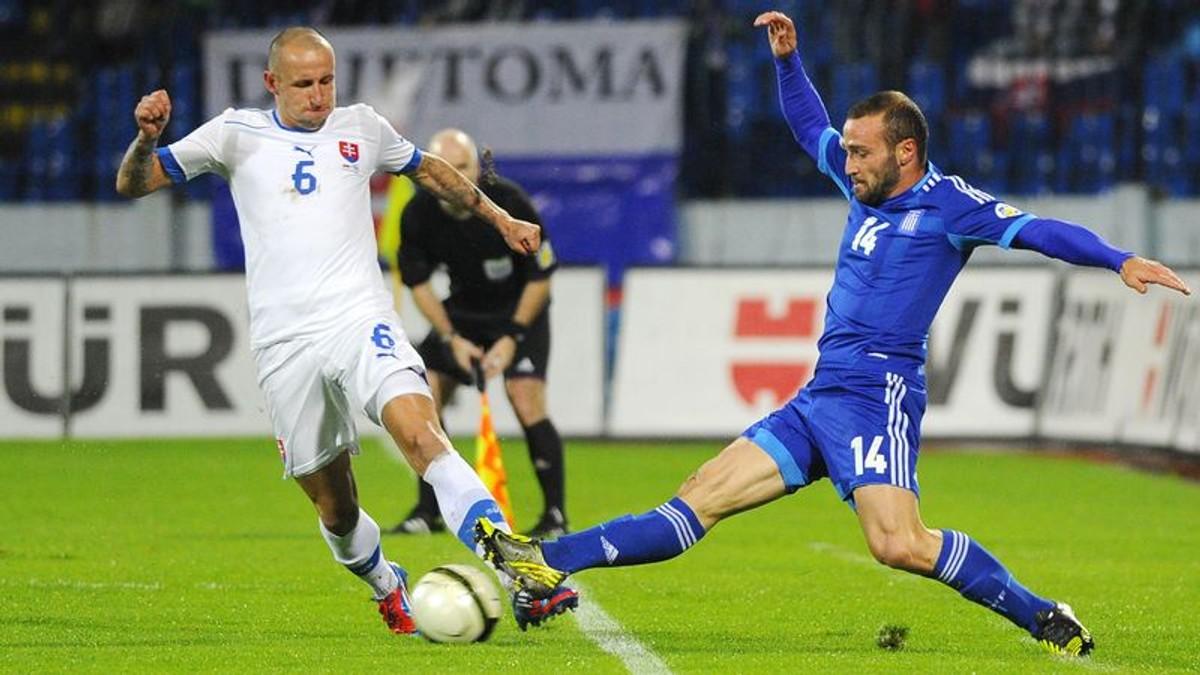 132d9f5b41ee1 Kvalifikácia MS: Slovensko prehralo s Gréckom 0:1 | Noviny.sk