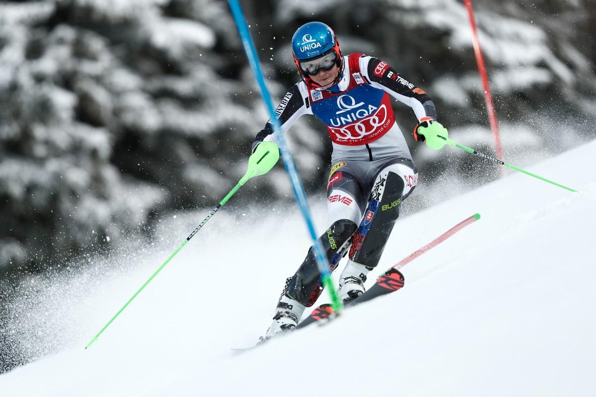 Slalom Ma Inu Vitazku Ako Vlhovu Ci Shiffrinovu Huste Tv Najnovsie Sportove Spravy