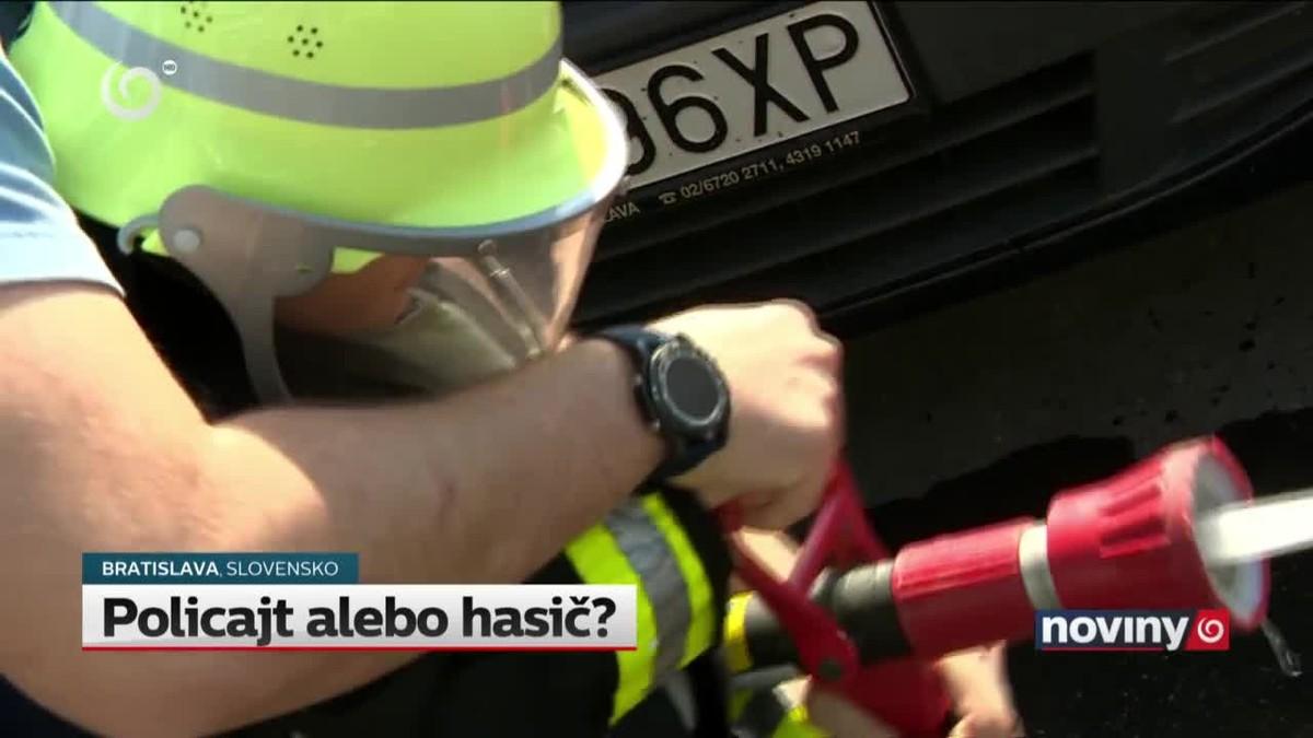 policajt s hasičem jak napsat dobrý první online seznamovací e-mail