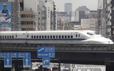 Japonský sex vo vlaku
