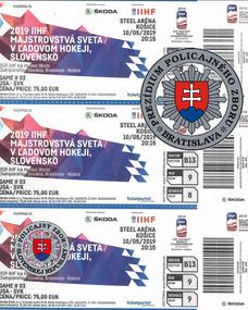 0ec983b3f94fb Falošné lístky na hokejové majstrovstvá · Falošné lístky na MS v hokeji 2019