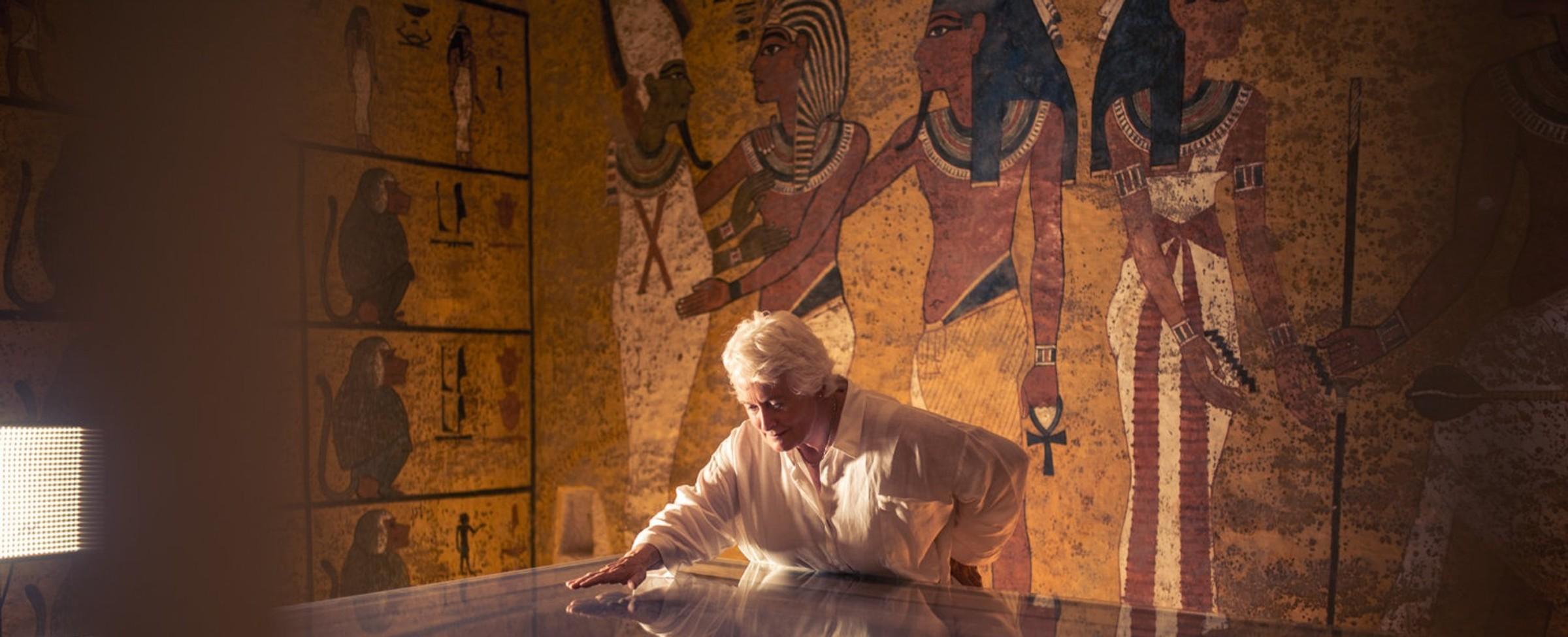 Muž, který fotil Tutanchamona