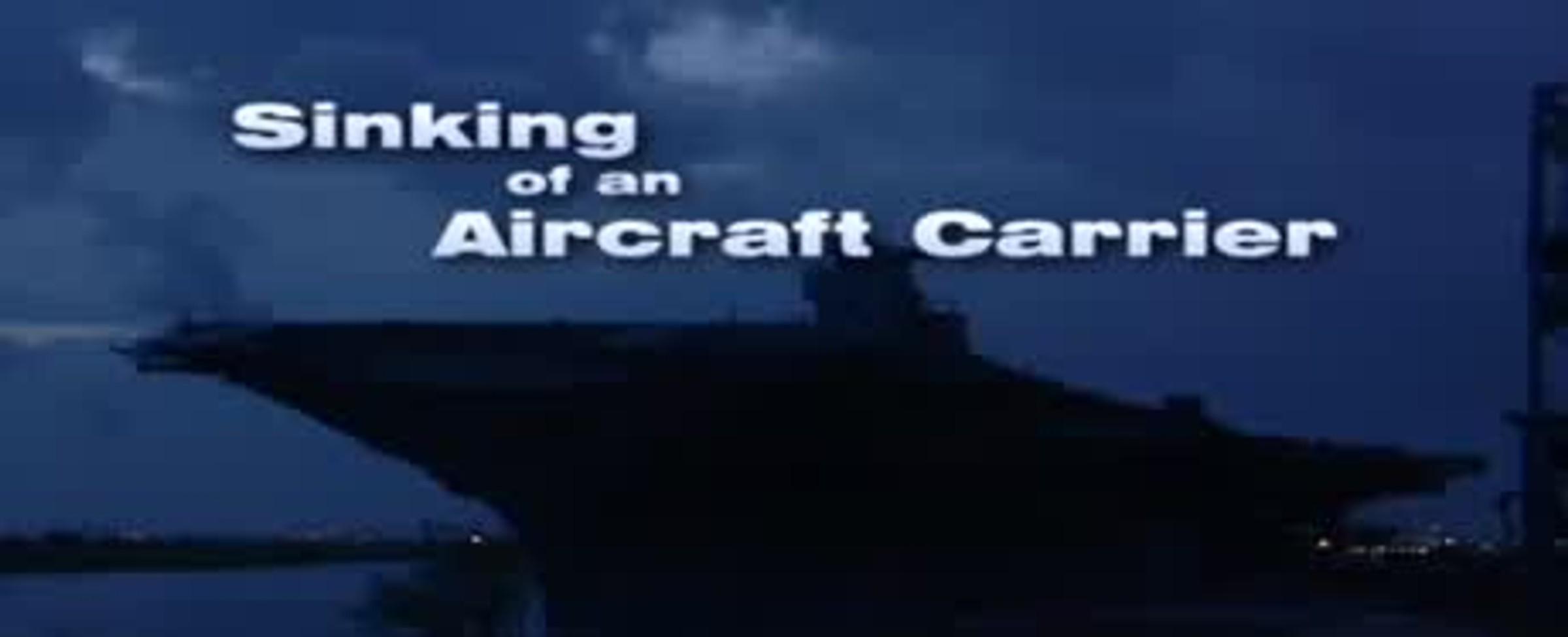 Potopení letadlové lodi