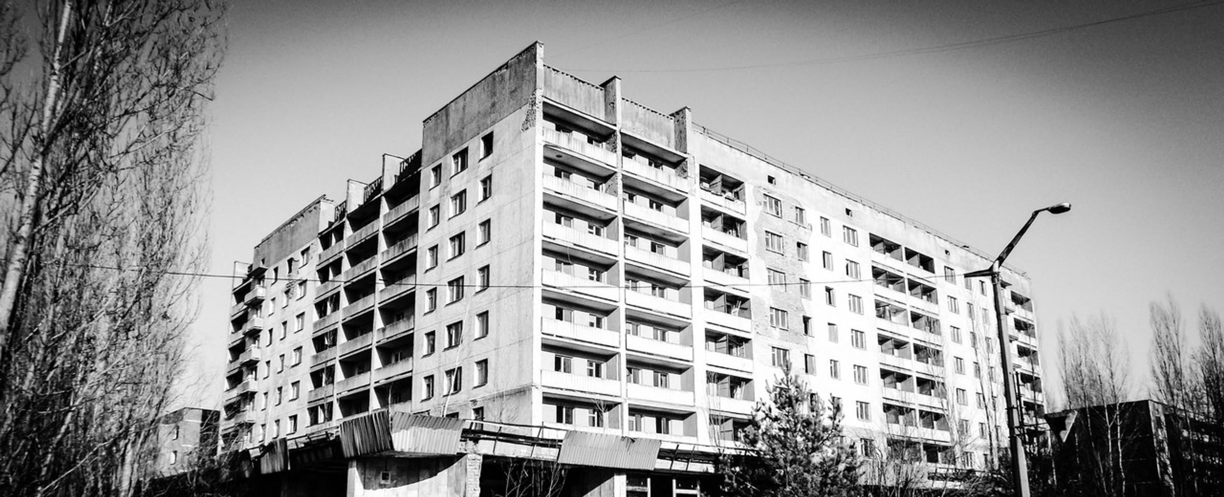 Prohlídka Černobylu
