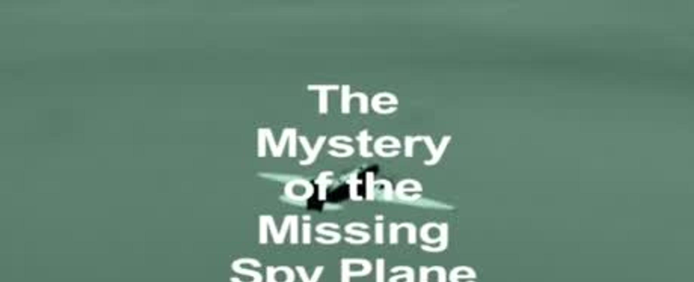 Záhada pohřešovaného letadla