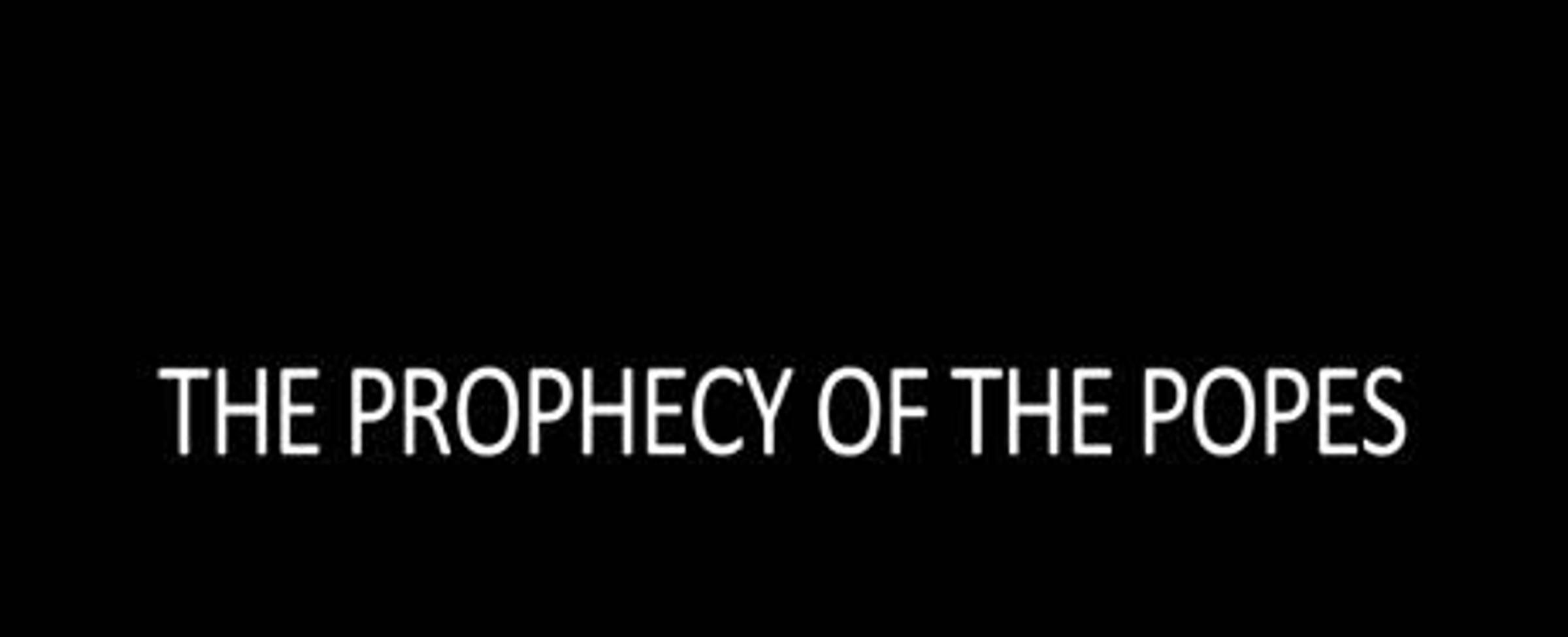Proroctví o papežích