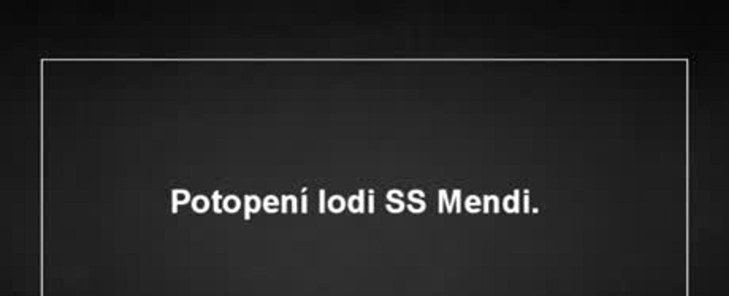 Potopení lodě SS Mendi