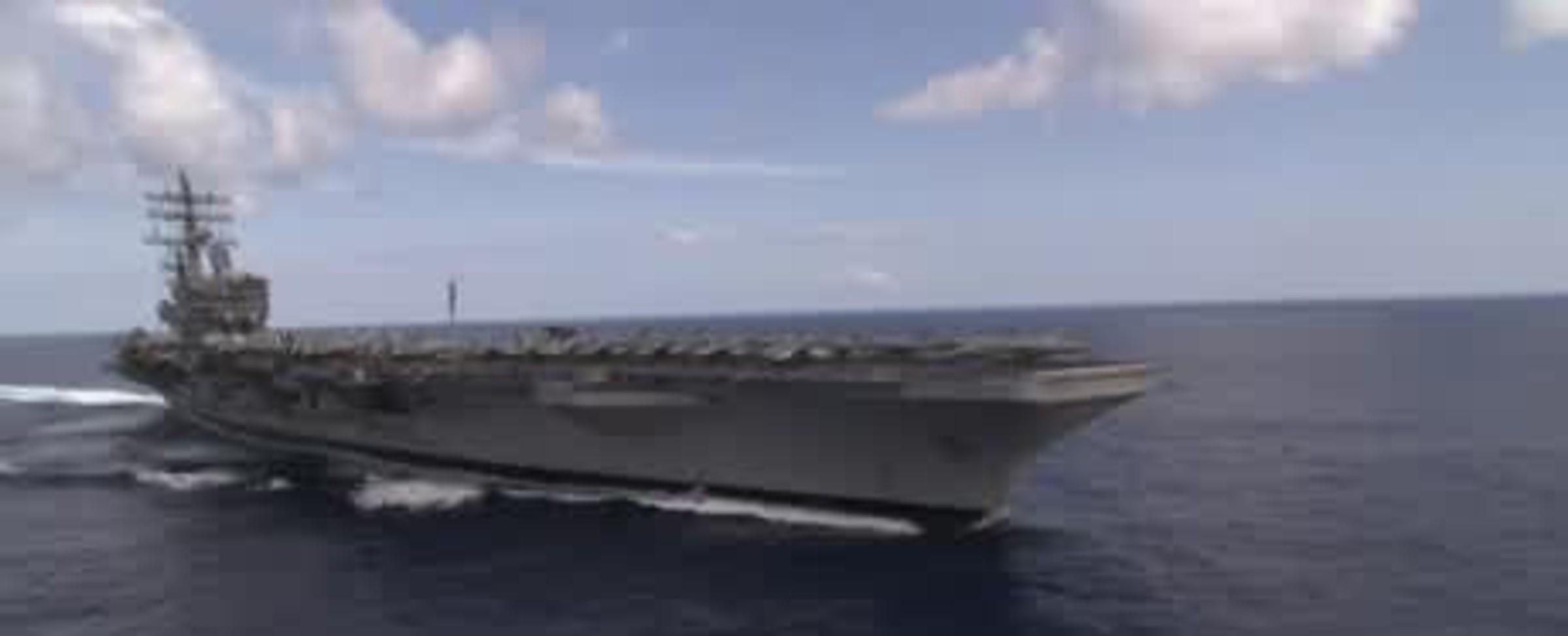 Letadlová loď USS Ronald Reagan