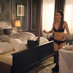 Dominika Žiaranová v spodnom prádle-Delukse