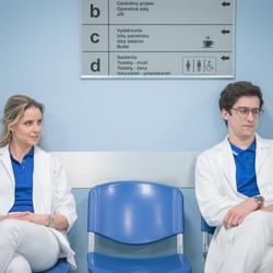 Dávid Uzsák v seriáli Nemocnica