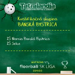 Kvalifikačné skupiny floorball SK LIGA 2019/2020