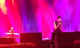 Boli ste včera? Dážď vás neodradil? 🕪🎹🎤🎸🔊 👫👬👭👭#depechemode #dm #bratislava #koncert