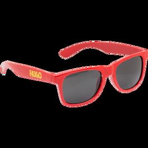 Hugo - červené slnečné okuliare s UV filtrom