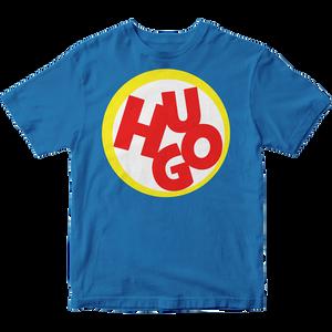 Hugo – modré bavlnené tričko