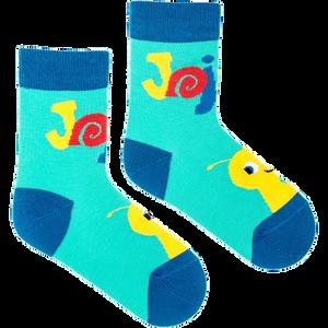 FUSAKLE - tyrkysové detské ponožky