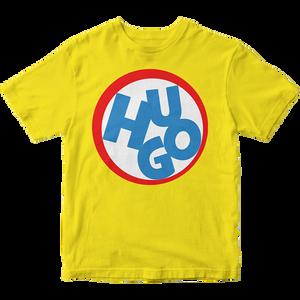Hugo – žlté bavlnené tričko