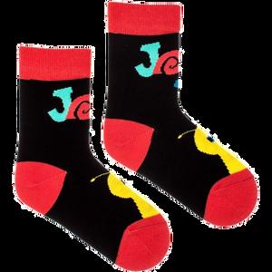 FUSAKLE - čierne detské ponožky