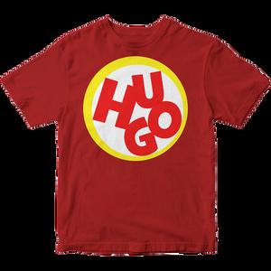 Hugo – červené bavlnené tričko