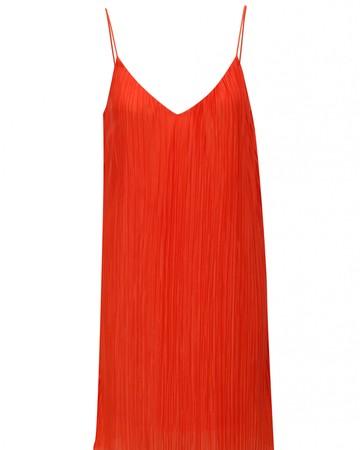 Červené plisované šaty 76018b40c9