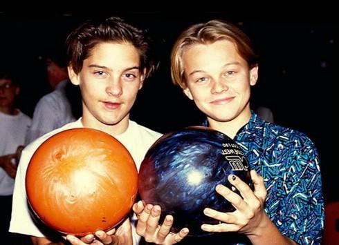 Tobey Maguire a Leonardo DiCaprio