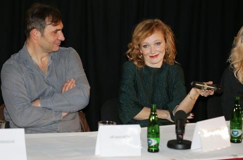 Aňa s kolegom Jiřím Macháčkom