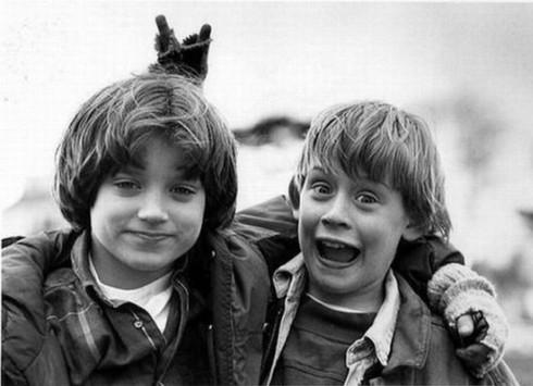 Elijah Wood a Macauley Culkin