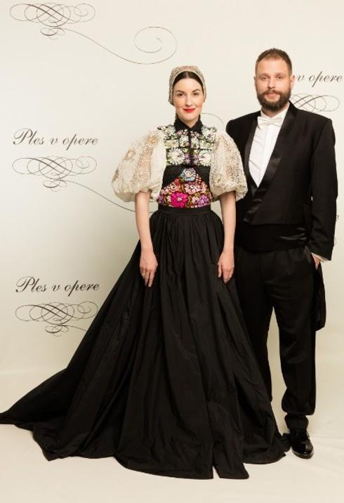 Tamara Šimončíková Heribanová s manželom