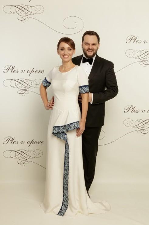 Junior s manželkou Antóniou