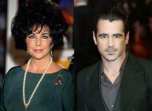Elizabeth Taylor a Colin Farrell