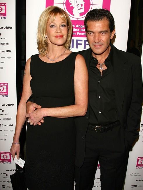 Melanie Griffith a Antonio Banderas