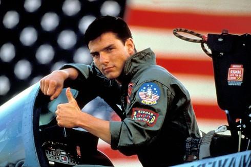 Tom Cruise vo filme Top Gun