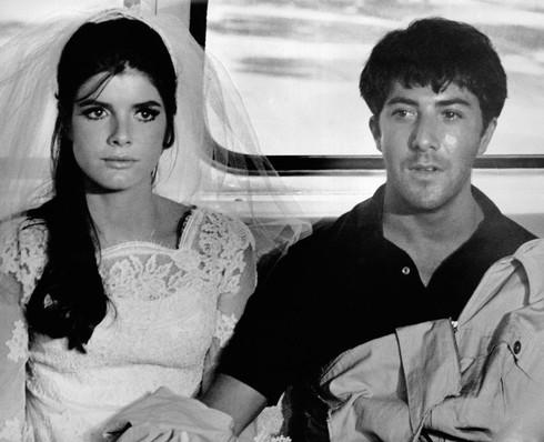 Dustin Hoffman vo filme Absolvent