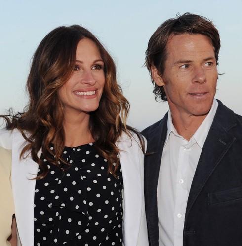 Julia Roberts s manželom
