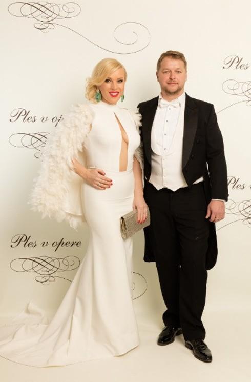 Gabriela Drobová s partnerom