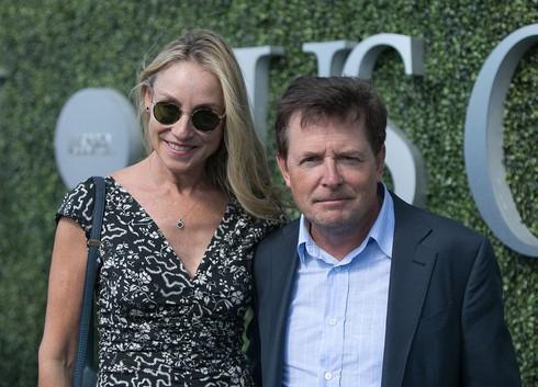 Michael J. Fox s manželkou Tracy Pollan