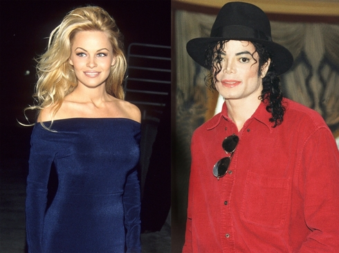 Pamela Anderson, Michael Jackson