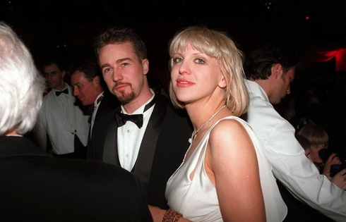 Edward Norton a Courtney Love