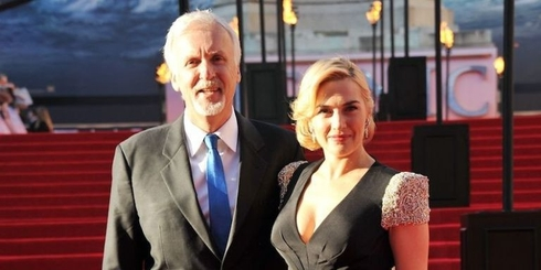 James Cameron, Kate Winslet